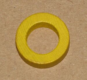 Pirate's Cove Board Game STRENGTH MARKER YELLOW Replacement Piece Days of Wonder