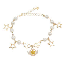 Fashion Anime Card Captor Sakura Bracelet Charm Women Girl Bangle Adjustable