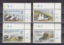 TIMBRE STAMP 4 ILES FALKLANDS  Y&T#141-44 OISEAU BIRD  NEUF**/MNH-MINT 1985 ~A95