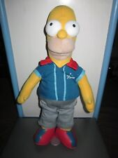 RARE THE SIMPSONS TALKING HOMER SIMPSON PLUSH TOY DOLL FIGURE BY APPLAUSE