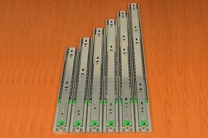 Glissière de Tiroir avec hydraulique amortisseur télescopique Rail 300-600 mm