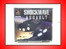 SHOCKWAVE ASSAULT GIOCO PER PLAYSTATION 1 PSX PS1 PS3 USATO SICURO!