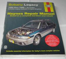 Reparaturanleitung Subaru Legacy + Legacy Outback, Baujahre 1990 - 1999