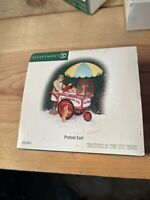 Department 56 Christmas in the City Pretzel Cart 58973 Heritage Village - New