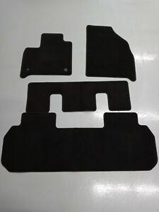 Brand New 2018-2020 Chevrolet Traverse Black Carpet Floor Mat Set OEM