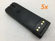 Lot of 5 - Motorola Battery 7.4V 30.7Wh Nntn6034A For Xts3000 Xts5000 Xts3500