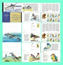 SOUTH AFRICA 1999 MIGRATORY SPECIES BOOKLET COMPLETE SETS & POSTCARDS 0099FDC