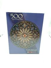 Rose Window of St. John the Divine NYC 500 Piece Jigsaw Puzzle NEW