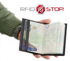 ✅ KORUMA RFID Blocking Leather Travel Biometric Passport Holder Case SM-991PBL