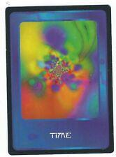 Doctor Who Black Border CCG Card Time Variant Blue Background Card Good