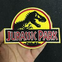 Jurassic Park Logo Officer Iron On Patch Embroidered with Stickersl badge