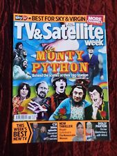 TV & SATELLITE WEEK UK MAGAZINE- 28 JUNE- 4 JUL 2014 -MONTY PYTHON- DOLLY PARTON