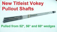 3 Titleist Dynamic Gold Wedge Golf Club Shafts   .355   New Titleist Vokey Pulls