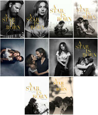 10pc A Star Is Born Movie 2018 Mirror Surface Card Sticker Promo Card Poster A56