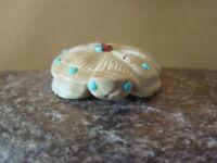 Zuni Indian Hand Carved Dolomite Turtle Fetish!  Danette Laate FF464