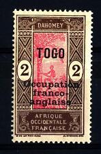 TOGO - 1916-1917 - Francobolli di  Dahomey