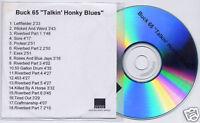 BUCK 65 Talkin Honky Blues 2003 UK promo test CD