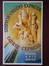 POSTCARD SIMPLON ORIENT EXPRESS TAURUS EXPRESS (1)