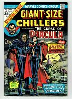 Giant-Size Chillers #1 Dracula 1st Appearance Lilith 1974 Hot Bronze Age Key