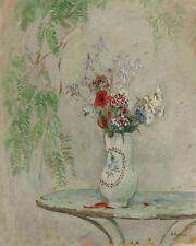 Pitcher Of Flowers Henri Lebasque  24'  CANVAS