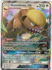 Pokemon TCG SM SUN & MOON BASE SET : GUMSHOOS GX 110/149