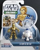 Star Wars Jedi Force C-3PO and R2-D2 Playskool Heroes by Hasbro
