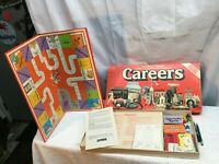 Vintage 1979 Careers Board Game Parker Brothers Game of Choices Looks Complete