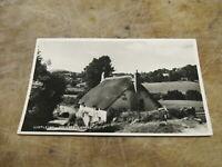 Real photographic postcard - Kelly's Cross Lustleigh - Dartmoor Devon