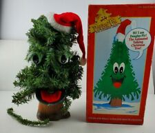Vintage 1996 Gemmy Douglas Fir The Talking Tree Animated Christmas Pre Owned.