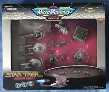 Micro Machines Star Trek Limited Edition Collectors Set Tv Series orig box