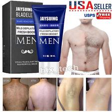 Men's Permanent Body Hair Removal Cream Hand Leg Hair Loss Depilatory Cream 60ml