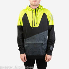 BRAND NEW WITH TAGS Neff Performance NEON Hoodie BLACK MEDIUM-XLARGE LIMITED