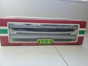 LGB 42600 Uintah Railway Dual Flat Cars G-Scale