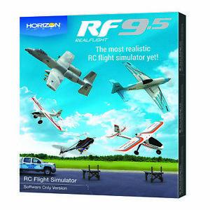 Horizon Hobby RealFlight 9.5 RF9.5 RC Airplane Flight Simulator (Software Only)