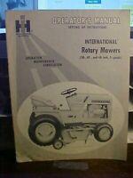 "1966 OM International Rotary Mowers 38-42 & 48"" 3 Spindle   (1M)"