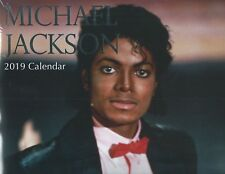 MICHAEL JACKSON 2019 WALL CALENDER 16 MONTHS TO VIEW SEALED SPACE FOR WRITING