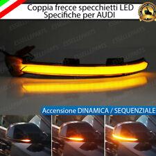SET FRECCE SPECCHIETTI LED DINAMICHE PROGRESSIVE SCORREVOLE AUDI A4 B8 RESTYLING