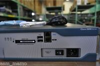 Cisco 2851 Router ADVENTERPRISE 15.1T ios Call Manager Express CME 8.5 1GD/256F