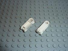 Excellent Cond 8010 8009 LEGO TECHNIC partie 32062-Essieu 2 encoches x 2 blanc-RARE