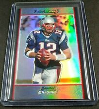 TOM BRADY 2007 Bowman Chrome Football Refractor New England Patriots