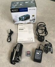Sony Handycam HDR-CX190E Full HD1080 Camcorder Battery Charger 32GB Memory Cardp