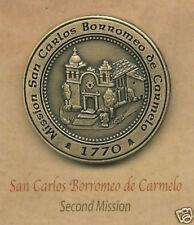 SAN CARLOS BORROMEO de CARMELO Mission Lapel Pin