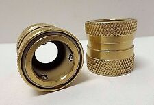 """Capspray 0275625 Brass Air Hose Quick Connects, 3/4"""" - Lot of 2 Pieces NO PKG**"""