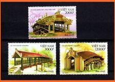 Vietnam - Ancient Famous Bridges in Vietnam / Culture/ Architecture  1020 MNH