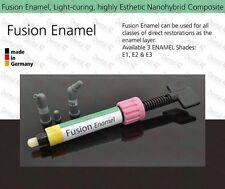 E1 Enamel, Light Curing Dental Nano Reinforced Anterior Composite Restorative