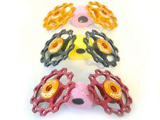 Composants et pièces de vélo rouge en alliage