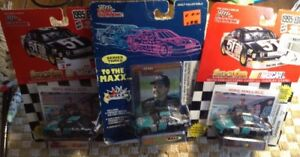 Mike Wallace '90s NASCAR Diecast ~1:64 Scale~ Helg meyers [LOT of 3]  Vtg NOS