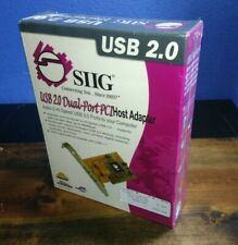 SIIG USB 2.0 Dual Port PCI Host Adapter Card