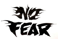 No Fear Vinyl Decal  - Window sticker Car RV Hunting Outdoor Vinyl Decal USA