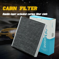 For Audi A3 VW Golf Seat Leon 5Q0819653 Pollen Cabin Air Filter Activated Carbon